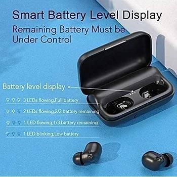 Haylou T15 TWS Siyah Kablosuz Bluetooth 5.0 Kulaklýk AAC IPX5 DSP