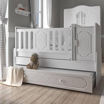 Derin Büyüyen Bebek Odasý Takýmý Beyaz
