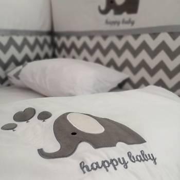 Happy Baby 9 Parça Bebek Uyku Seti