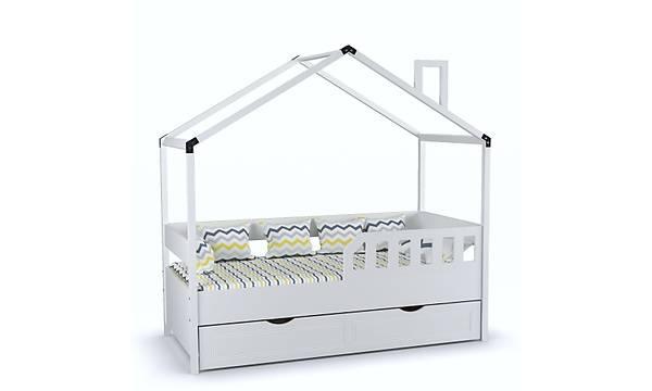 Çatýlý Karyola Montessori 90x190 Beyaz (Yavrulu)