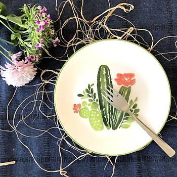Kaktüs 6lý Pasta Tabaðý 19 cm