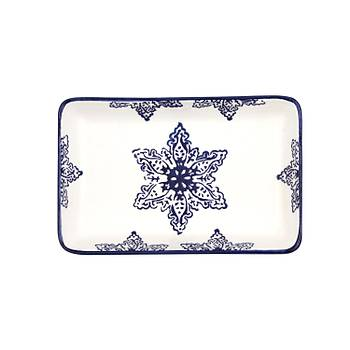 Yýldýz 3' lü Kayýk Tabak 18,5x11,5 cm
