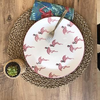 Flamingo 6lý Servis Tabaðý 25 cm