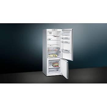 Siemens KG56NQWF0N Seramik Bej No Frost Alttan Donduruculu Buzdolabý