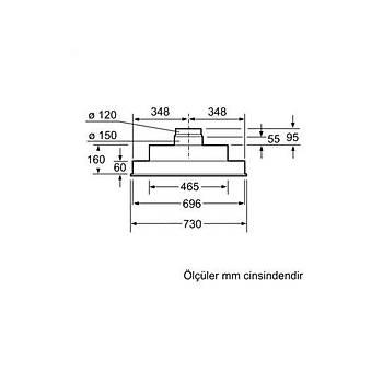 Siemens LB55565 Ankastre Aspiratör