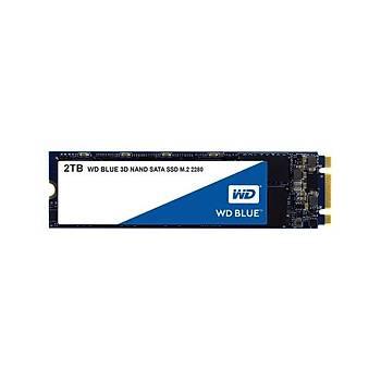 Western Digital WDS200T2B0B 2 TB 9500/8400Mb/s 22x80 M2 Blue 3D NAND SSD Harddisk