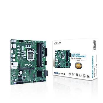 Asus PRO B560M-C/CSM Sc-1200 B560 DDR4 2666Mhz M2 mATX Intel Anakart