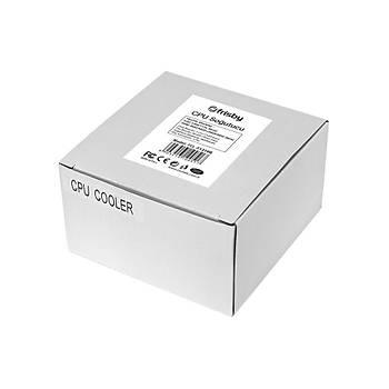 Frisby FCL-F1310G 8.5 cm 4 Ledli AMD/INTEL Ýþlemci Soðutucusu