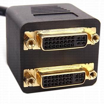 Dark DK-HD-ADVIX2DVI DVI 24+1 to 2 x DVI 24+1 Erkek-Diþi Görüntü Çoklayýcý