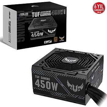 Asus TUF-GAMING-450B 450W 80+ Bronze 13.5cm Fanlý Tuf Gaming Power Supply