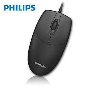 Philips SPK7234/01 USB 1600 Dpi 3 Tuþlu Siyah Kablolu Mouse