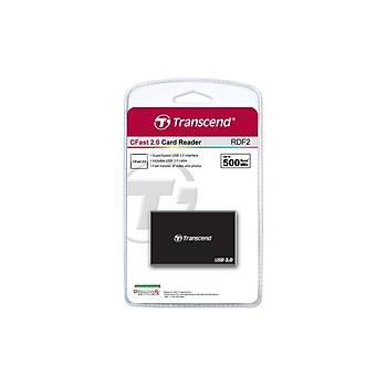 Transcend TS-RDF2 RDF2 USB 3.0 Siyah Kart Okuyucu