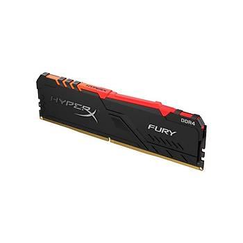 Kingston HX432C16FB3A/8 8 GB DDR4 3200MHZ RGB CL16 Hyperx Fury Bilgisayar Bellek
