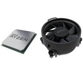 Amd 100-100000031 Ryzen 5 3600 3.6GHZ Sc-AM4 32MB 6 Çekirdek VGAsýz 65W Kutusuz MPK Amd Ýþlemci
