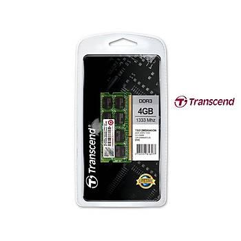 Transcend TS512MSK64V3N 4 GB DDR3 1333MHZ CL9 Notebook Bellek