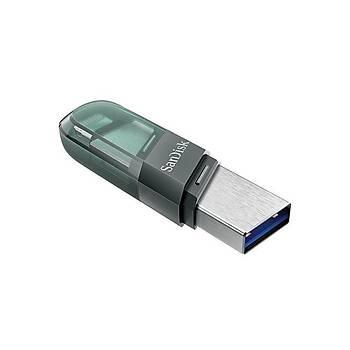 Sandisk SDIX90N-256G-GN6NE 256 GB USB 3.0 Apple Type-A iXPAND USB Flash Bellek
