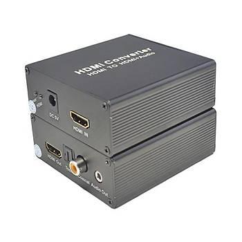Beek BS-CV-HA-HAAU HDMI to HDMI Ses Sinyal Çevirici Adaptör