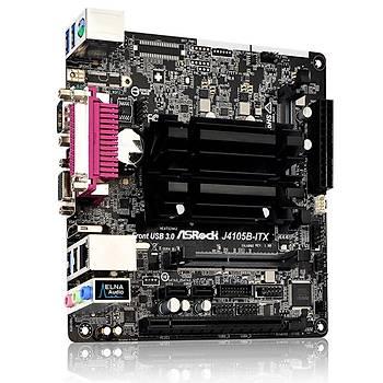 Asrock J4105B ITX Celeron 4 2.5GHZ CPU DDR4 mini ITX Intel Anakart