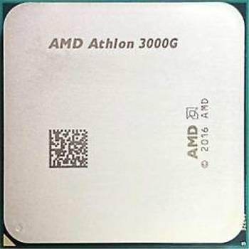 Amd YD3000C6M2OFH Athlon 3000G 3.5GHZ Sc-AM4 4MB 2Çekirdek Radeon Vega 35W Tray Amd Ýþlemci