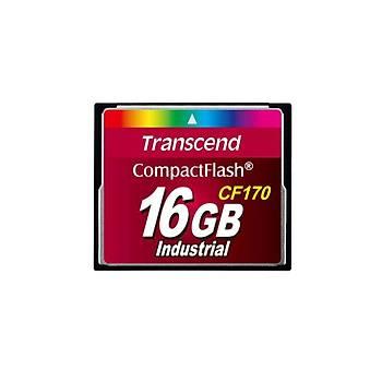 Transcend TS16GCF170 16 GB CF170 300X 90/60Mb/s Industrýal Compact Hafýza Kartý