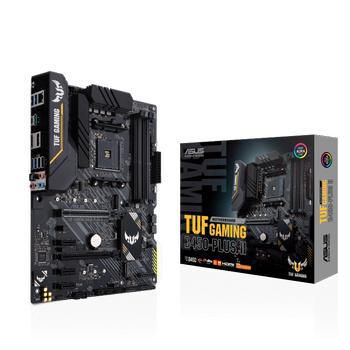 Asus TUF GAMING B450-PLUS II Sc-AM4 B450 DDR4 4400(OC) M2 ATX Amd Anakart