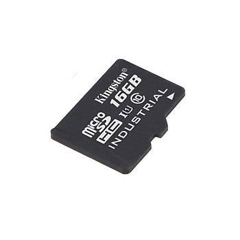 Kingston SDCIT/16GB 16 GB SDHC Class10 Uhs-I Industrýal microSD Hafýza Kartý