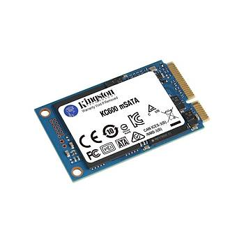 Kingston SKC600MS/1024G 1 TB 550/520Mb/s mSATA 22x42 SSD Harddisk