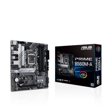 Asus PRIME B560M-A Sc-1200 B560 DDR4 5000(OC) M2 mATX Intel Anakart
