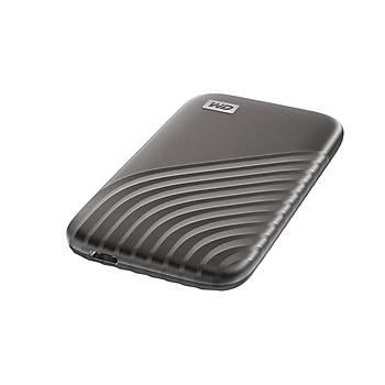 Western Digital WDBAGF0010BGY-WESN 1 TB My Passport 2.5 inch USB Type C Gri SSD Harici Harddisk