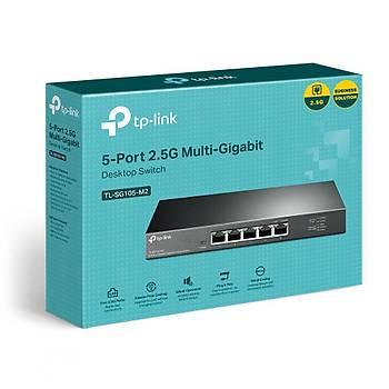 Tp-Link TL-SG105-M2 5 Port 2.5 Gigabit Masaüstü Ethernet Switch