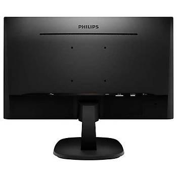 Philips 273V7QDSB/01 27 inch IPS 1920X1080 5ms VGA DVI HDMI Siyah Monit鰎