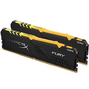 Kingston HX436C18FB4AK2/32 32 GB (2x16) DDR4 3600Mhz CL18 RGB HyperX Fury Bilgisayar Bellek