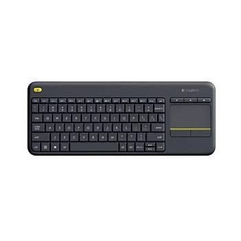 Logitech 920-007149 K400+ Q TR USB Kabloluz Touch Siyah Klavye