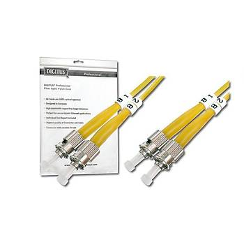Digitus DK-2911-05 5 Mt ST-ST 09/125 Singlemode Duplex Fiber Optik Patch Cord Kablo