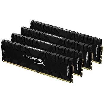 Kingston HX436C18PB3K4/128 128 GB (4x32) DDR4 3600Mhz CL18 HyperX Predator Bilgisayar Bellek