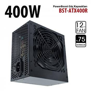Power Boost BST-ATX400R 400W 12cm Fanlý Power Supply