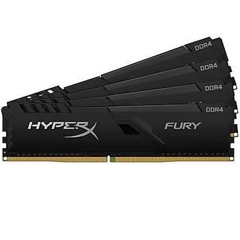 Kingston HX436C18FB3K4/128 128 GB (4x32) DDR4 3600Mhz CL18 HyperX Fury Bilgisayar Bellek
