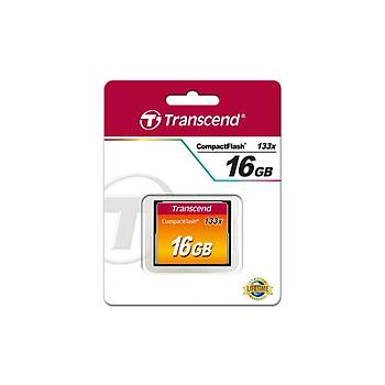 Transcend TS16GCF133 16 GB CF133 133X 90/60Mb/s CompactFlash Hafýza Kartý