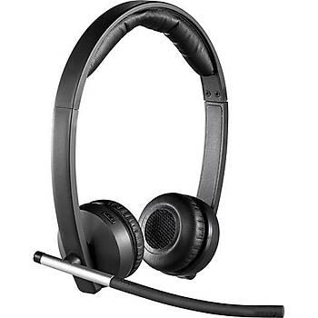 Logitech 981-000517 H820E Stereo Kafa Bantlý Kablosuz Mikrofonlu Kulaklýk