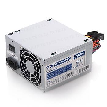 Tx TXPSU250S1 250W PowerMax Serisi 8cm Fanlý Güç Kaynaðý