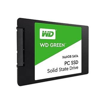 Western Digital WDS240G2G0A 240 GB 545/465Mb/s 2.5 inch SATA Green SSD Harddisk