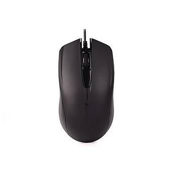 A4 Tech OP-760  USB 1000Dpi 3 Tuþlu V-TRack Siyah Mouse