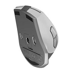 A4 Tech FB35 2000 Dpi 6 Tuþlu 2.4Ghz Bluetooth Kablosuz Beyaz Mouse