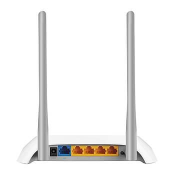 Tp-Link TL-Wr840N 300 Mbps 2.4 Ghz 4 Port 2 Anten Access Poýnt