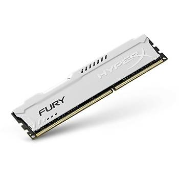 Kingston HX318C10FW/8 8 GB DDR3 1866MHZ CL10 Hyperx Fury Bilgisayar Bellek