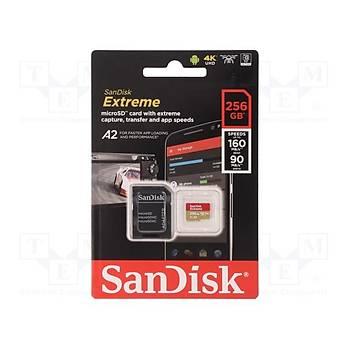 Sandisk SDSQXA1-256G-GN6MA 256 GB 160/90Mb/s A V30 XC-I microSD Hafýza Kartý