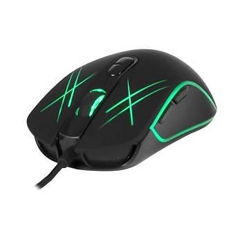 Inca IMG-339 USB Chassa 6 Led RGB SoftWear Slient 3200Dpi 7D Tuþ Kablolu Oyuncu Mouse