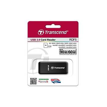 Transcend TS-RDF5K RDF5 USB 3.0  Siyah Kart Okuyucu