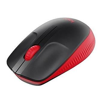 Logitech 910-005908 M190 1000Dpi 3 Tuþlu Kablosuz Siyah Kýrmýzý Mouse