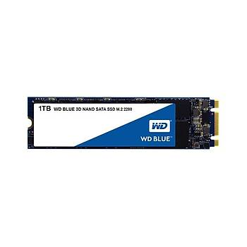 Western Digital WDS100T2B0B 1 TB 560/530Mb/S 22x80 M2 Blue 3D Nand SSD Harddisk